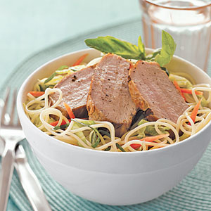 Vietnamese Noodle Salad with Pork