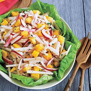 Jicama, Radish and Mango Salad