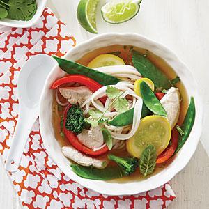 Ginger Chicken Noodle Bowls