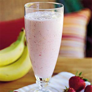 Banana-Berry Smoothie