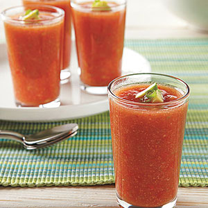 Spicy Gazpacho Shots
