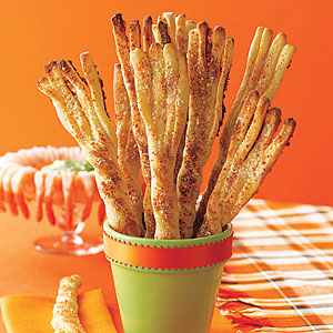 Parmesan Breadstick Broomsticks
