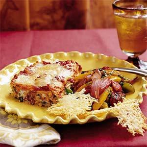 Cheesy Spinach Lasagna