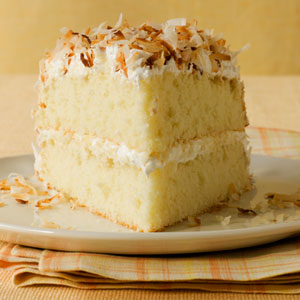 Toasted-Coconut Layer Cake