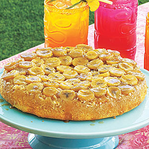 Banana-Coconut Upside-Down Cake