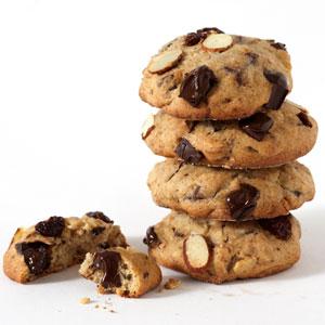 Light Chocolate Chunk Cookies