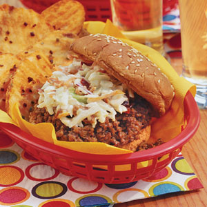 Slow-cooker Sloppy Joes