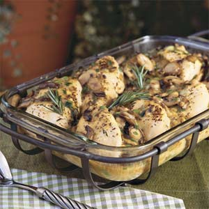 Southern-Stuffed Rosemary Chicken