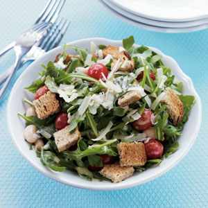 Arugula Salad with Lemon-Dijon Dressing