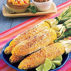 Oaxacan Grilled Corn