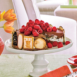 Triple Chocolate-Cookie Trifle Pie