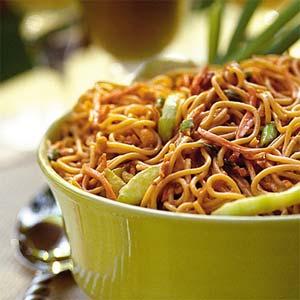 Peanut-Noodle Salad