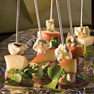 Ham-and-Cheese Skewers