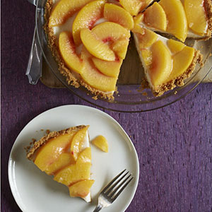 Vanilla-Roasted Peach Pie