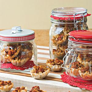 Crunchy Pecan Pie Bites