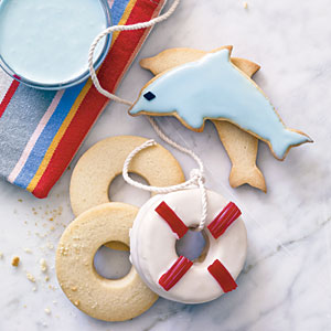 Coastal Cutout Cookies