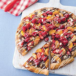 Grilled Dessert Pizza