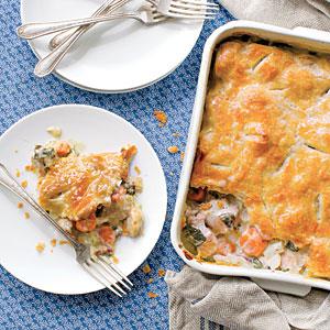 Harvest Time Chicken Pot Pie