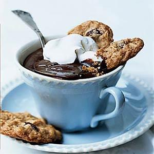 Peanut, Coconut, and Chocolate Cookies
