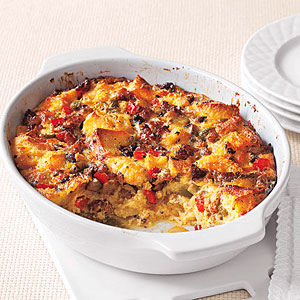Sausage, Egg and Vegetable Casserole