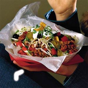 Chili-Corn Chip Stack-Up Salad