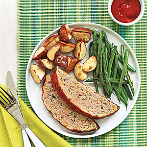 Italian-Style Turkey Meat Loaf