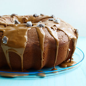 Mocha Coffee Cake with Espresso Glaze