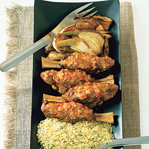 Braised Lamb Shanks with Fennel