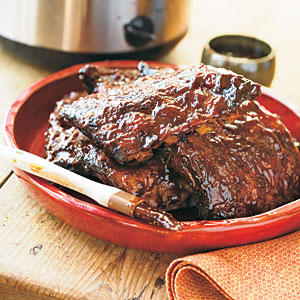 Bourbon BBQ Baby Back Ribs