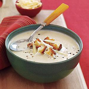 Cauliflower-Cheese Soup