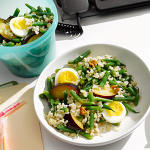 Egg and Rice Salad to Go