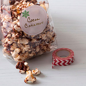 Cocoa-Cinnamon Popcorn