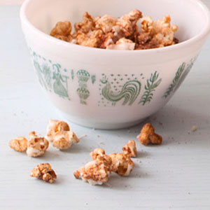 Chili-Garlic Popcorn