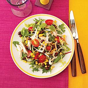 Black Bean and Chicken Salad
