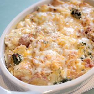 Potato Breakfast Strata