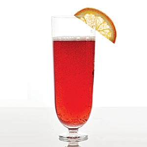 Cranberry-Champagne Cocktail