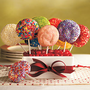 Sugar Cookie Pops