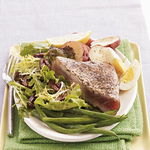 Seared Herbed Tuna