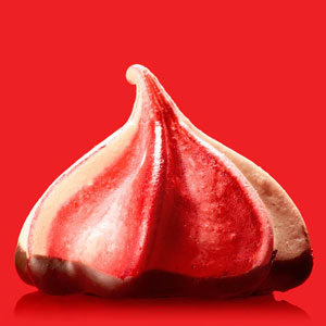 Raspberry-Chocolate Meringues
