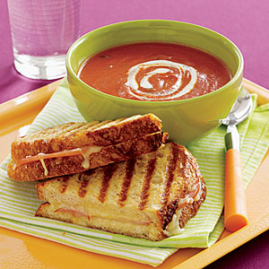 Tomato Soup and Grilled Cheese