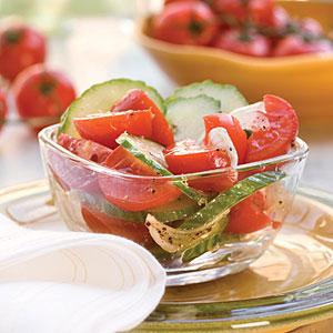 Tomato-Cucumber Salad