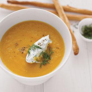 Easter Carrot Soup