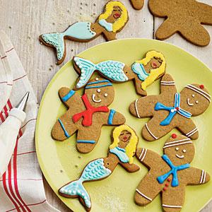 Gingerbread Sailors and Mermaids