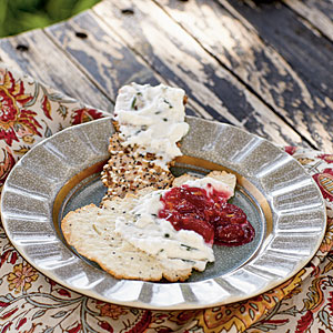 Goat Cheese Mousse