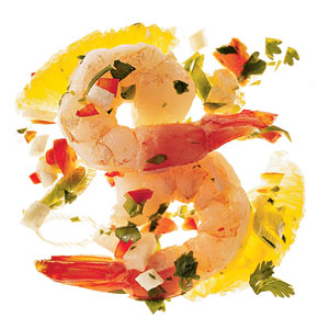 Spicy Shrimp Ceviche With Cilantro