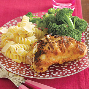 Ricotta-and-Ham-Stuffed Chicken Breasts