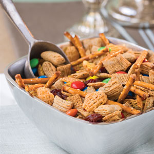 Microwave Snack Mix