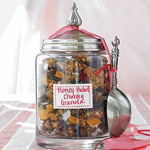 Honey-Baked Chunky Granola