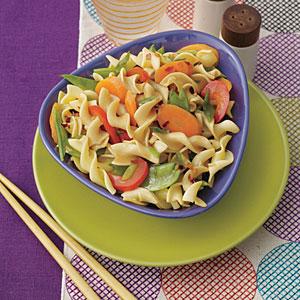 Stir-Fried Egg Noodles with Vegetables