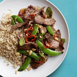 Thai Spring Beef Stir-Fry